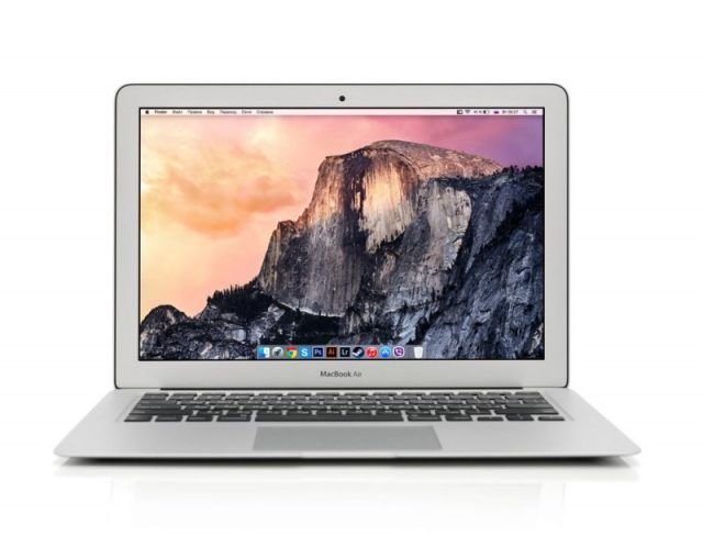 Super effektiv MacBook Air egner sig perfekt til studielivet